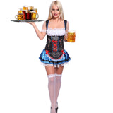 Bavarian Oktoberfest Beer Festival Fancy Dress Blue