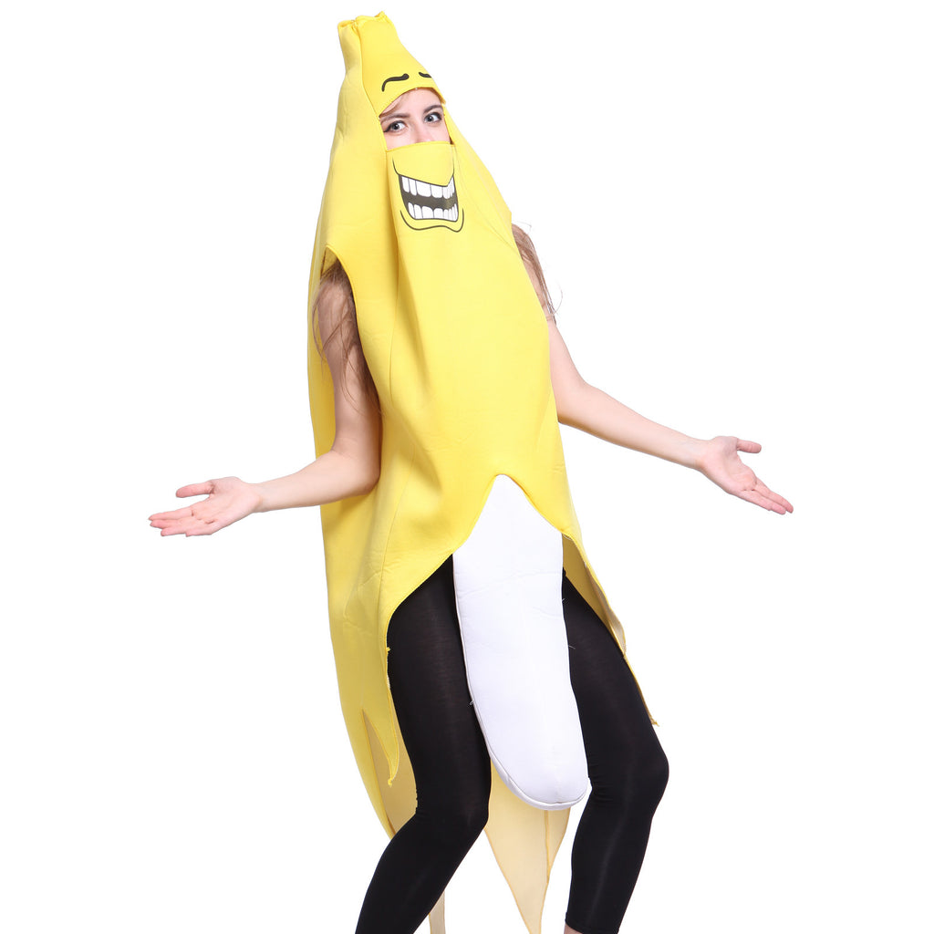 Unisex Comedy Funny Banana Suit