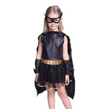 Girl as Batman Costume