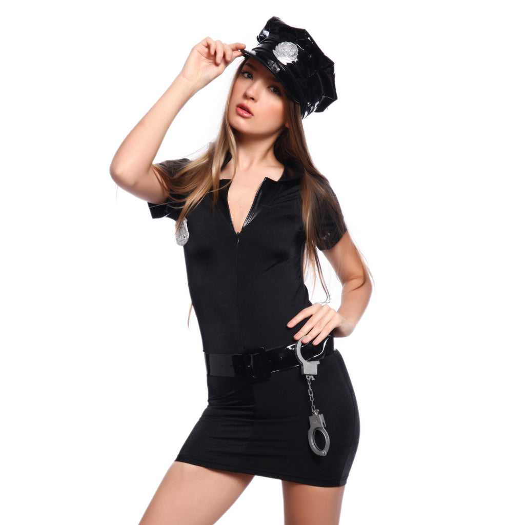 Sexy Plicewoman Cop Cosplay Uniform