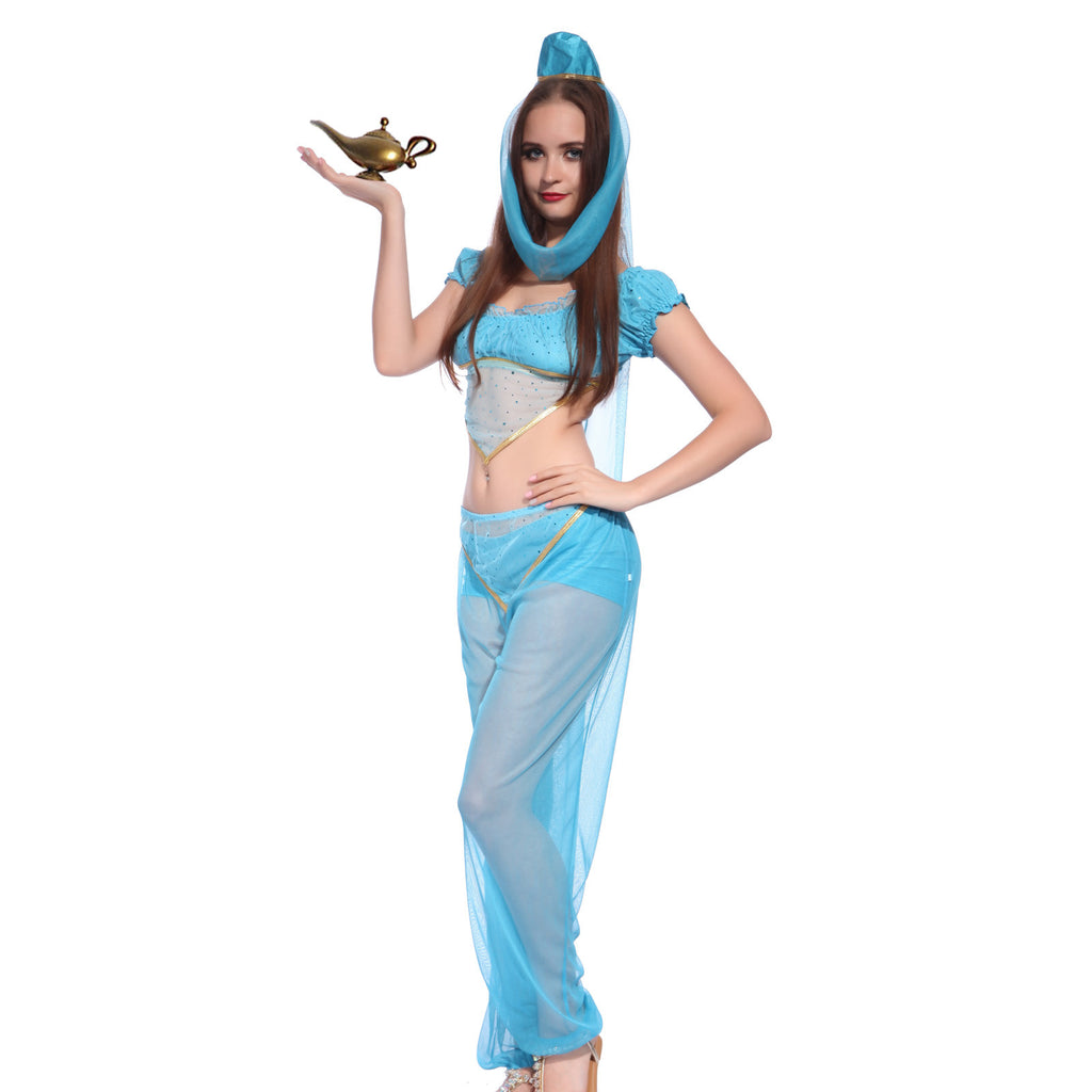 Arabian Princess Jasmine in Aladdin Fancy Dress