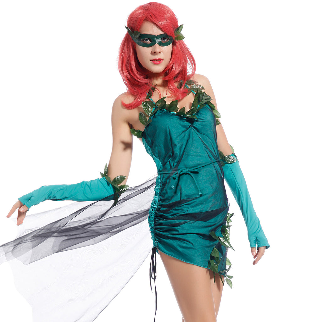 Lethal Beauty Poison Ivy Batman Fancy Dress