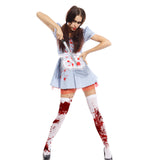 Ladies Zombie Dorothy Costume
