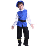 Boys Medieval Tudor Little Prince Costume