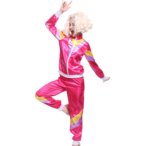 80s Ladies Tracksuit Costume