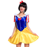 Ladies Snow White Fancy Dress Short