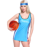 Ladies Basketball Cheerleader Sports Team Dress