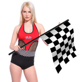 Ladies Race Racer F1 Girl Pit Grid Crew Jumpsuit