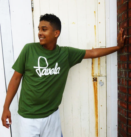 Favela Logo Green Mens