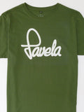 Favela Mens Logo T Shirt Close - Amazon Green
