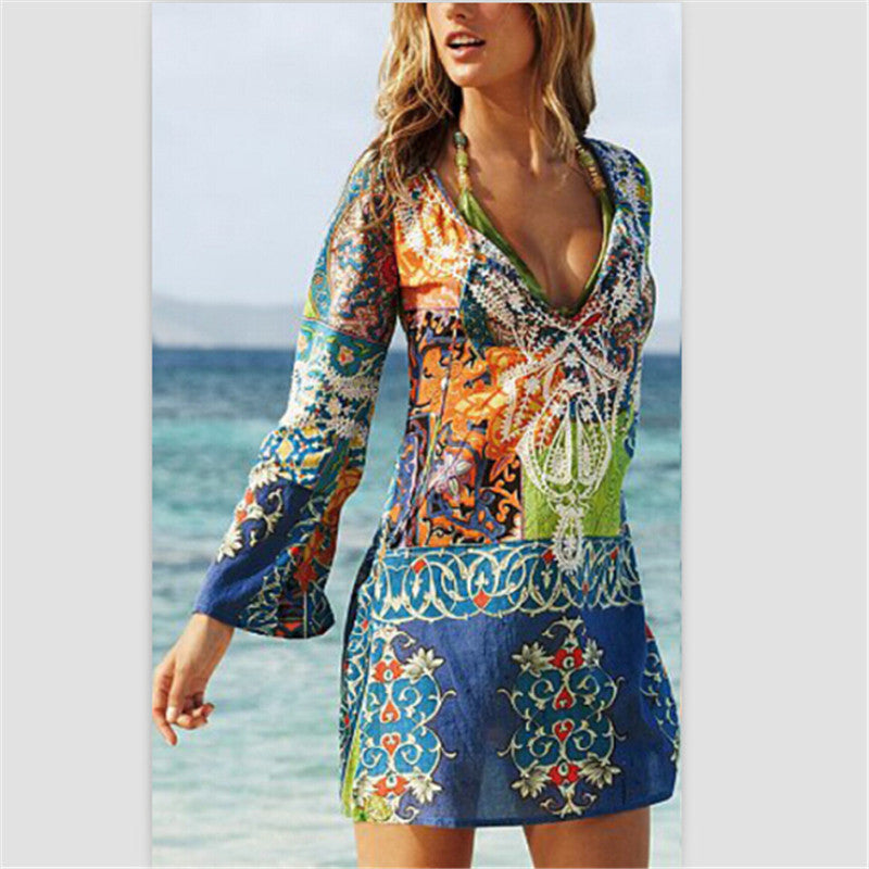CAPTIVATING CHIFFON PAREO SARONG WRAP – SCARF WRAP BIKINI COVER-UP DRESS PERFECT FOR TAKING YOU FROM BOARDWALK TO BEACH IN FABULOUS STYLE