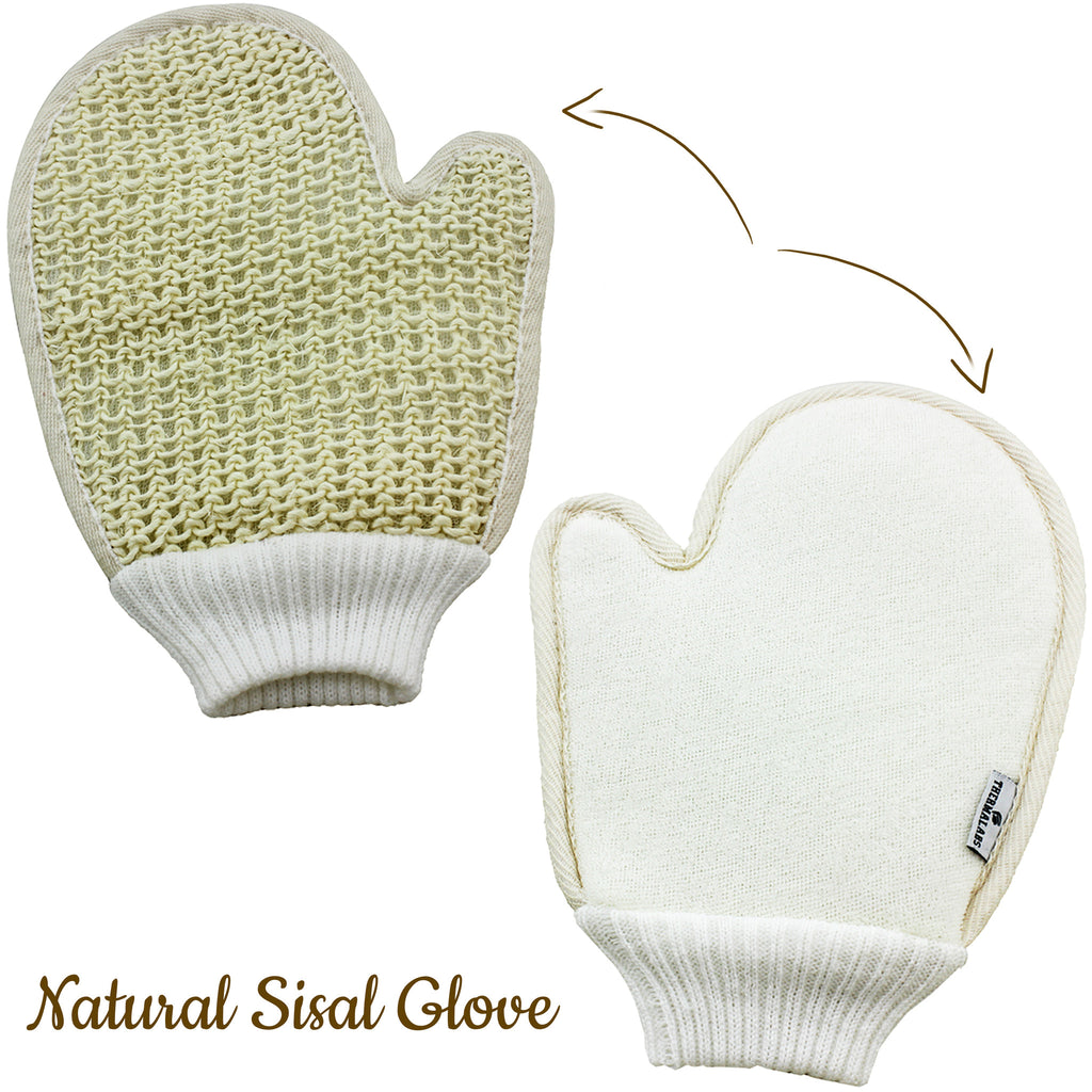 Natural Eco Friendly Sisal Glove