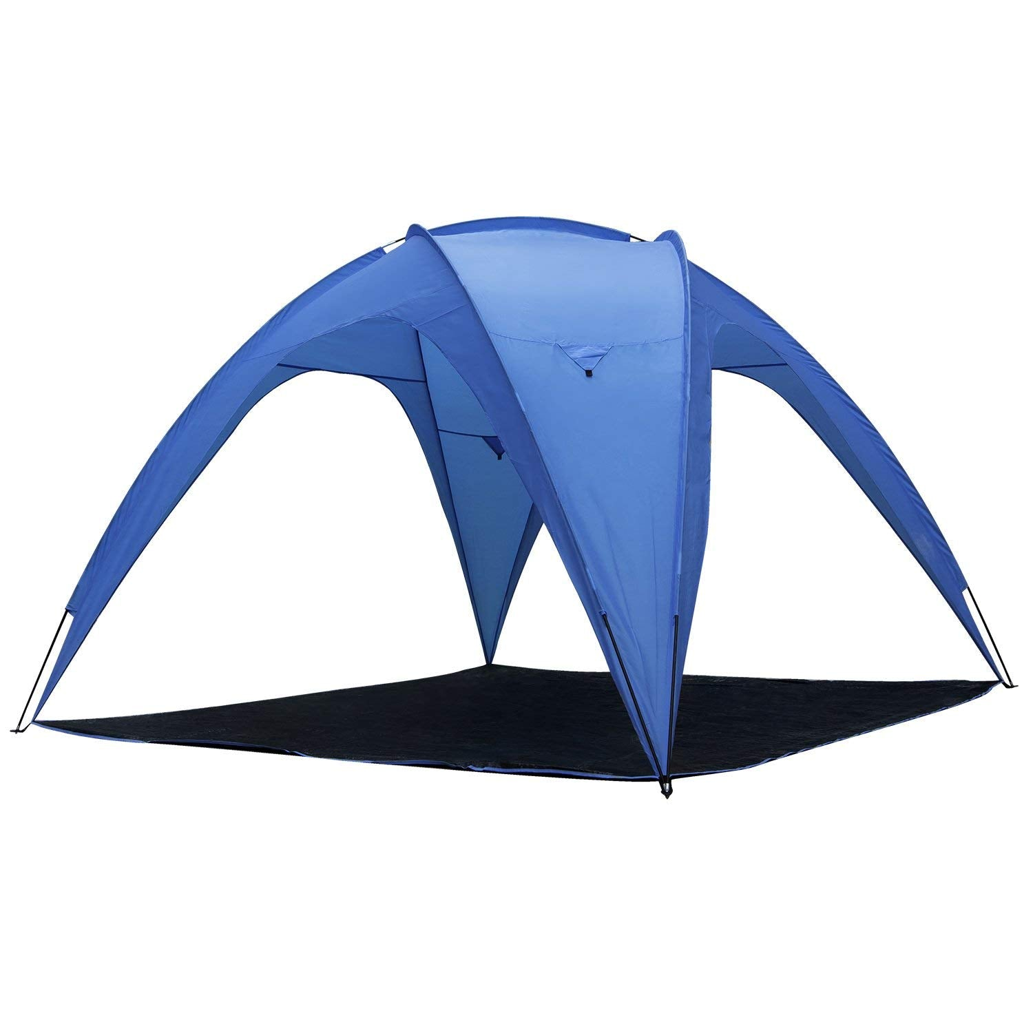 Thermalabs Jupiter Beach Tent Sun Shelter UV Protection   Portable Sunshade  Canopy Shade For Outdoor Camping Patio Party, Family, Baby, Girls For 8  People