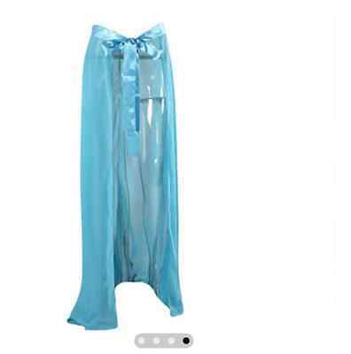 bc487bf129 SEXY CHIFFON BIKINI WRAP COVER-UP JUST A LITTLE REVEALING – LET THE WIND  SHOW YOUR BEAUTIFUL LEGS IN THIS BREATHTAKING SHEER MAXI SARONG WITH TIE-UP