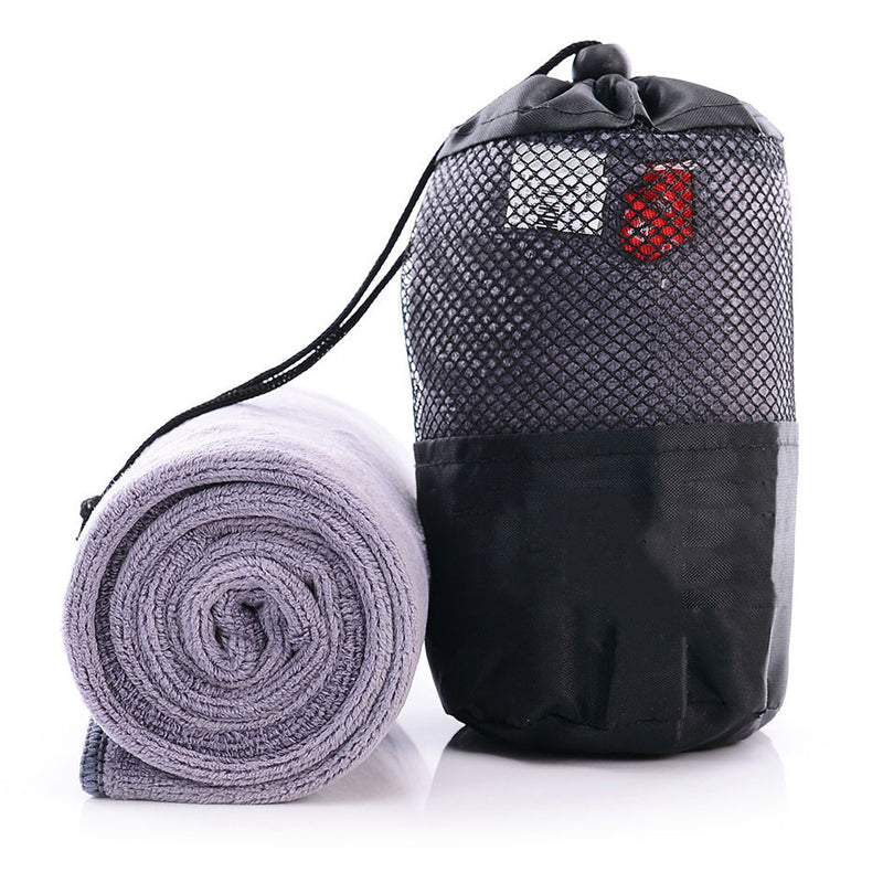 Fast-Dry Microfiber Towel with Bag