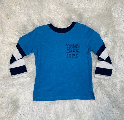 Yours + Mine Earth Tee