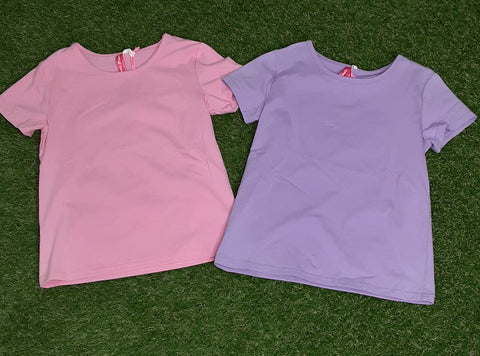 Basic Scoop Neck Tees