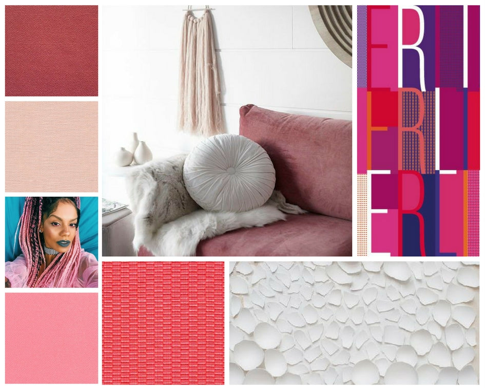 Moodboard for Pink Sofa
