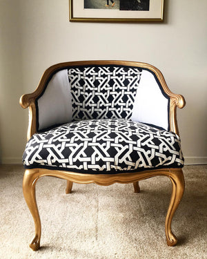 *Exclusive* Vivian Barrel Chair