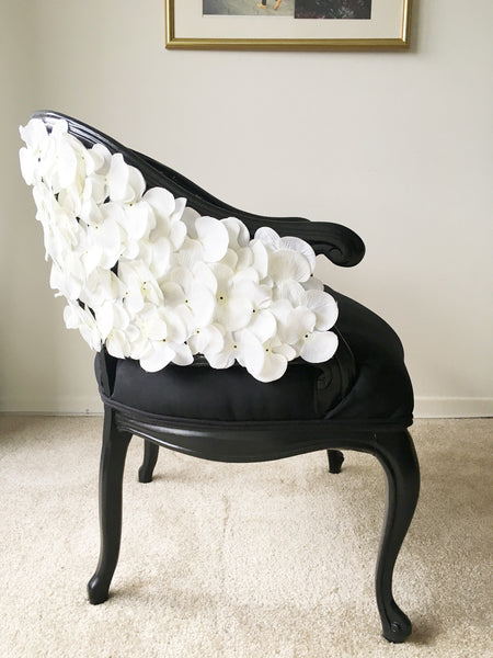 'Jet Orchid' Barrel Chair
