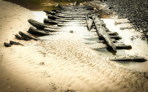 Sheringham - Wreck of the Ispolen