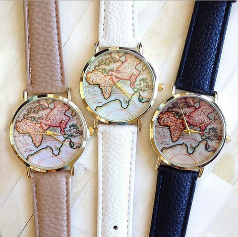 World Map Watch - CuteMade