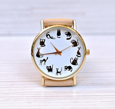 Cats Time Watch - CuteMade