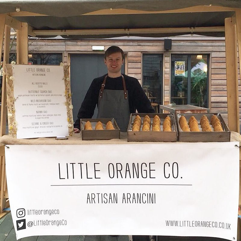 Little orange co on Altrincham Market