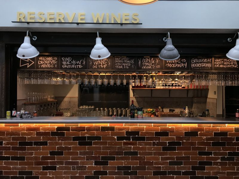 Reserve Wines bar at Macclesfield Picturedrome