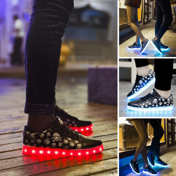 Unisex A360 Rechargeable Simulation Led Shoes