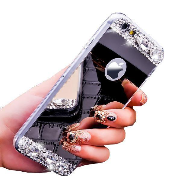 Phone Case - Fashion Mirror Case For IPhone