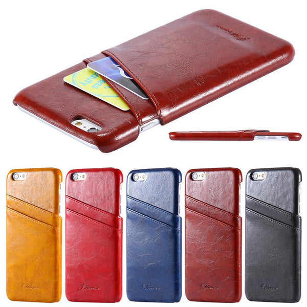 Phone Case - Retro Soft Leather Case For IPhone