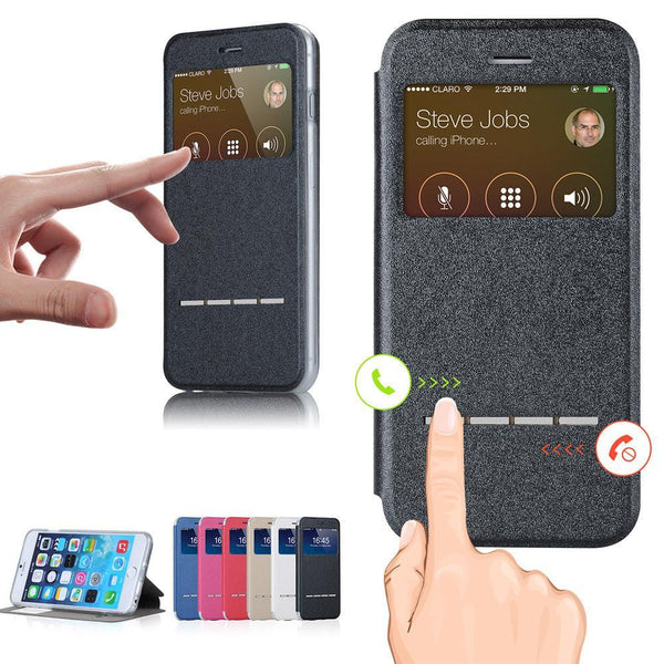 Phone Case - Smart Window View Case For IPhone