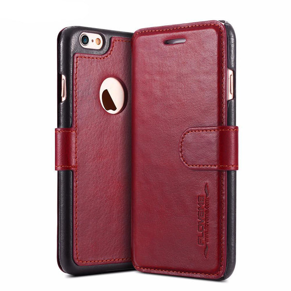 Phone Case - Vintage Genuine Leather IPhone Case