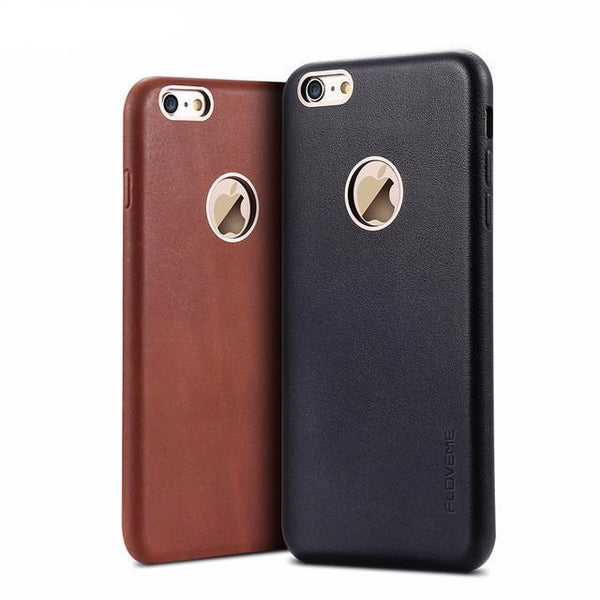 Phone Case - Vintage Leather Case For IPhone