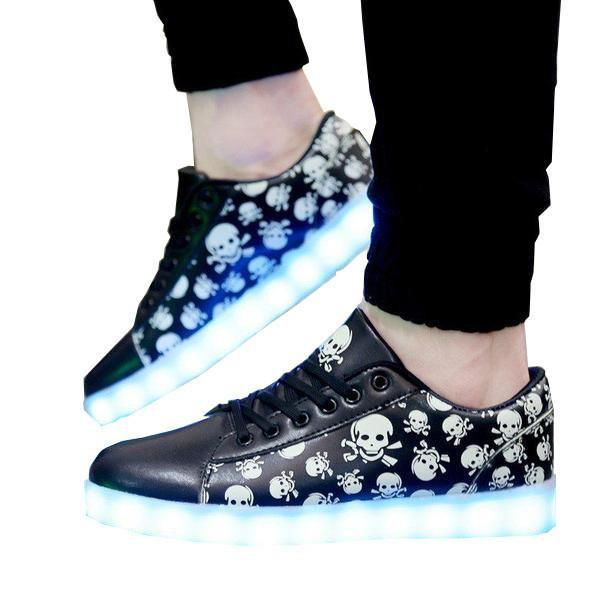 Shoes - Unisex A360 Rechargeable Simulation Led Shoes