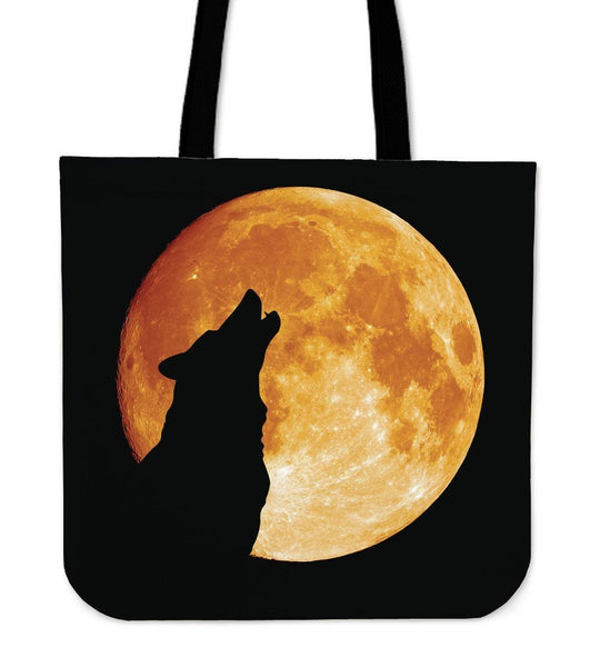 Wolfs Tote Bags