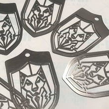 Load image into Gallery viewer, Black Wolf Syndicate Shield Emblem - Laser Cut Metal - Limited Edition