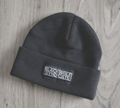Black Wolf Syndicate Crew Beanie