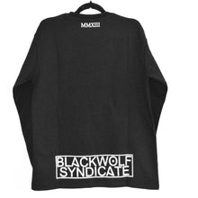 Load image into Gallery viewer, Black Wolf Syndicate Shield Crew-neck Sweatshirt