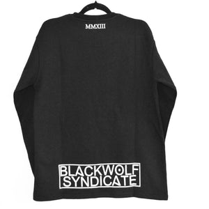 Black Wolf Syndicate Shield Crew-neck Sweatshirt