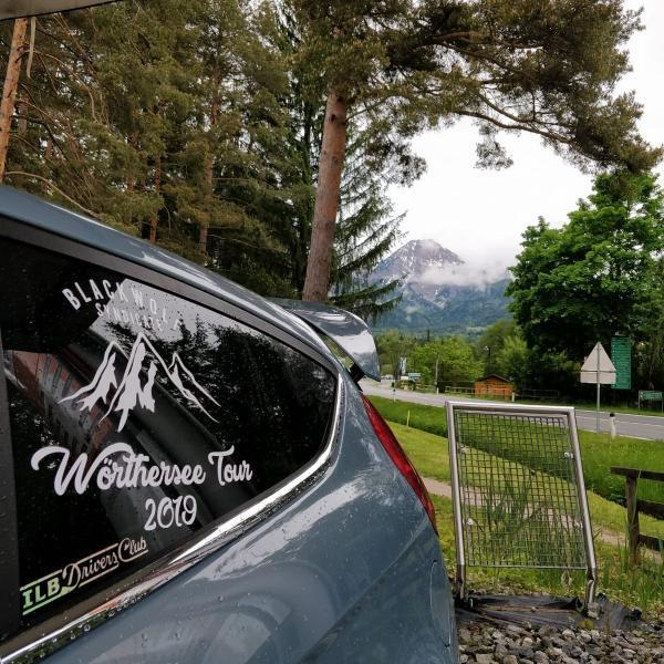 Worthersee Tour Vinyl - Window Decal - Black Wolf Syndicate