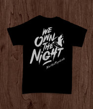 Load image into Gallery viewer, Black Wolf Syndicate We Own The Night T-Shirt