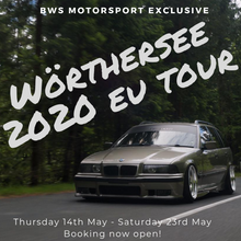 Load image into Gallery viewer, BWS x Wörthersee Tour 2020