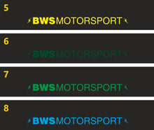 Load image into Gallery viewer, Two-Colour Sun Strip - BWS Motorsport (20+ colour options)