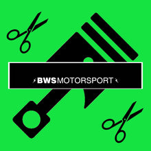 Load image into Gallery viewer, BWS Motorsport Cut-Away Sun Strip (20+ colour options)