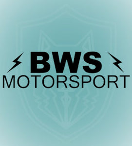 BWS Motorsport Logo Decal (colour options)
