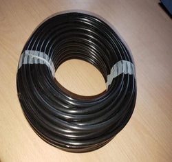 Micro Irrigation Tube Black PVC - 4mm - UK Manufactured.