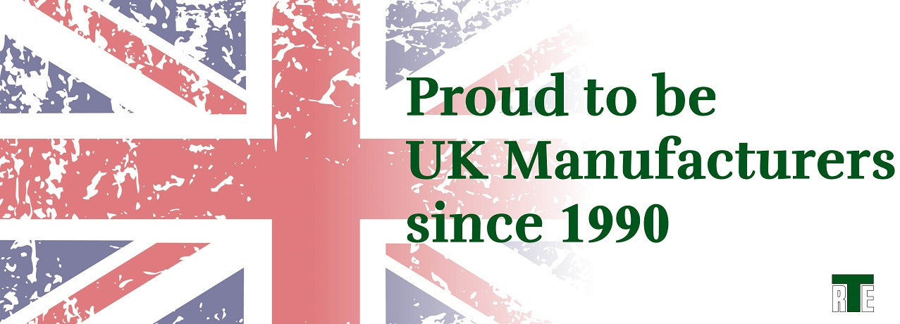 Proud to be UK Manufacturers since 1991