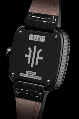 Norrsken - Black/Black - Alf Watch Company